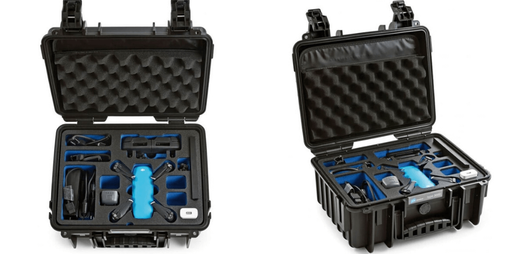B&W 3000 CASE FOR DJI SPARK COMBO