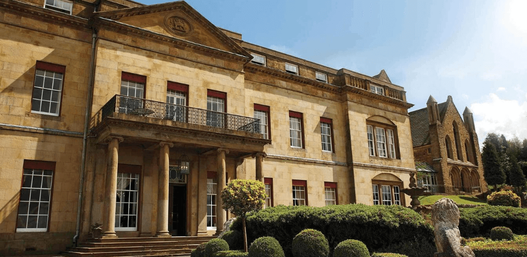 The course will be held at Shrigley Hall.