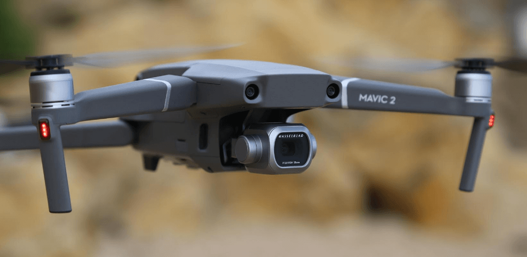 The DJI Mavic 2 Pro with Hasselblad camera.
