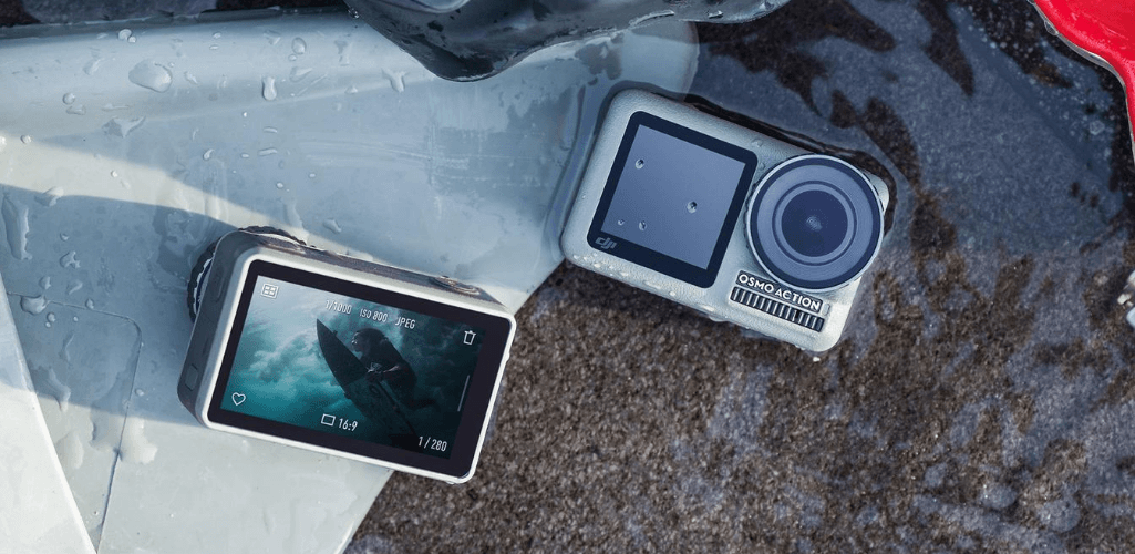 The DJI Osmo Action camera.