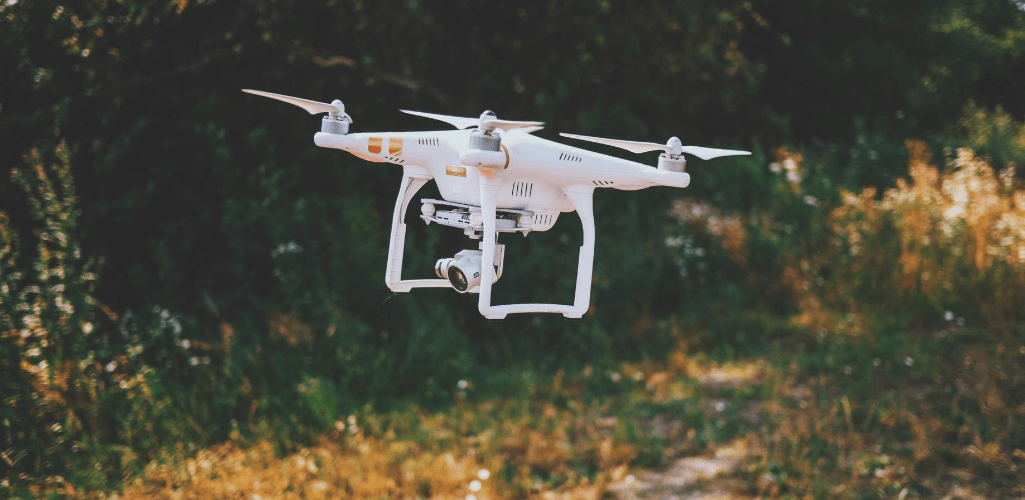 An iconic DJI Phantom.