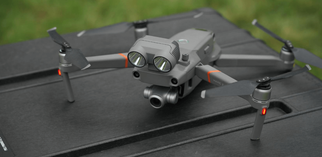 The Mavic 2 Enterprise.