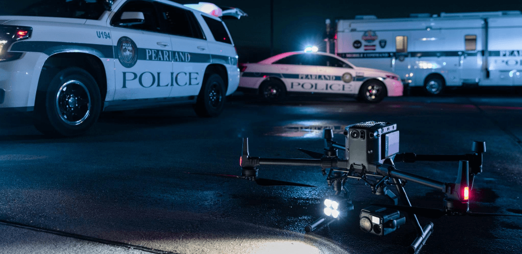 The new tactical BVLOS waivers allow for night-time flights.