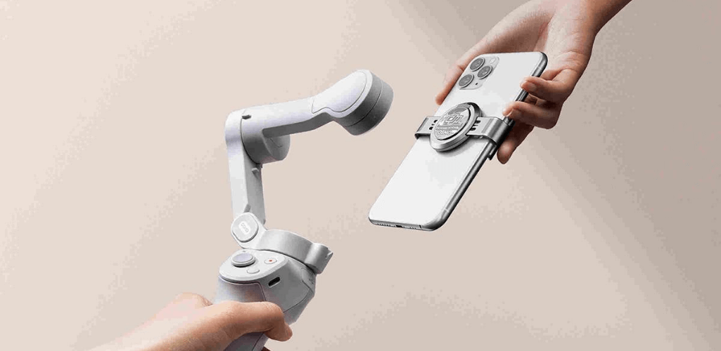 DJI OM 4: The new magnetic feature.