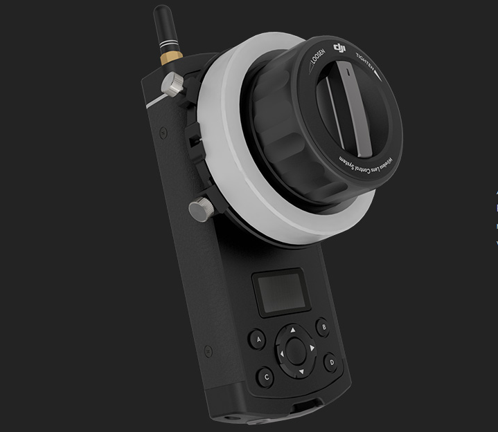 DJI Focus follow focus remote