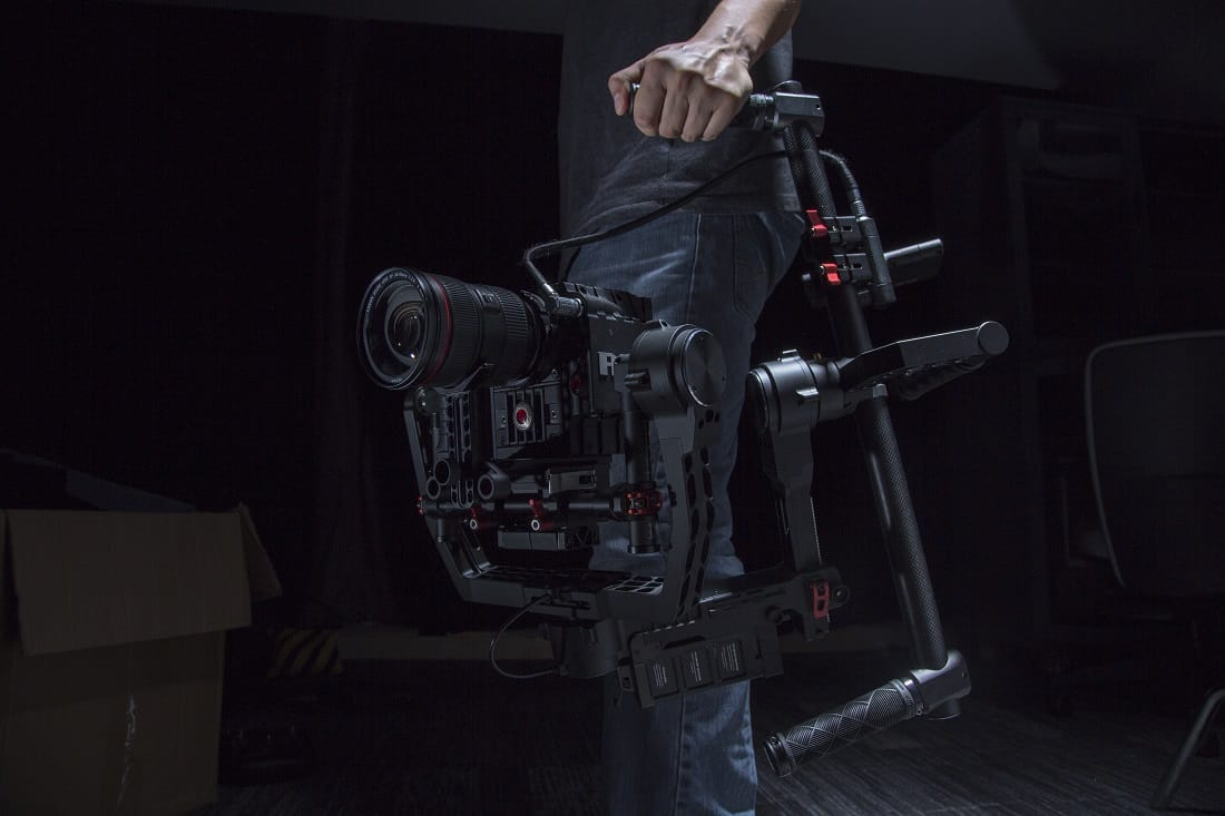 DJI Ronin - briefcase mode