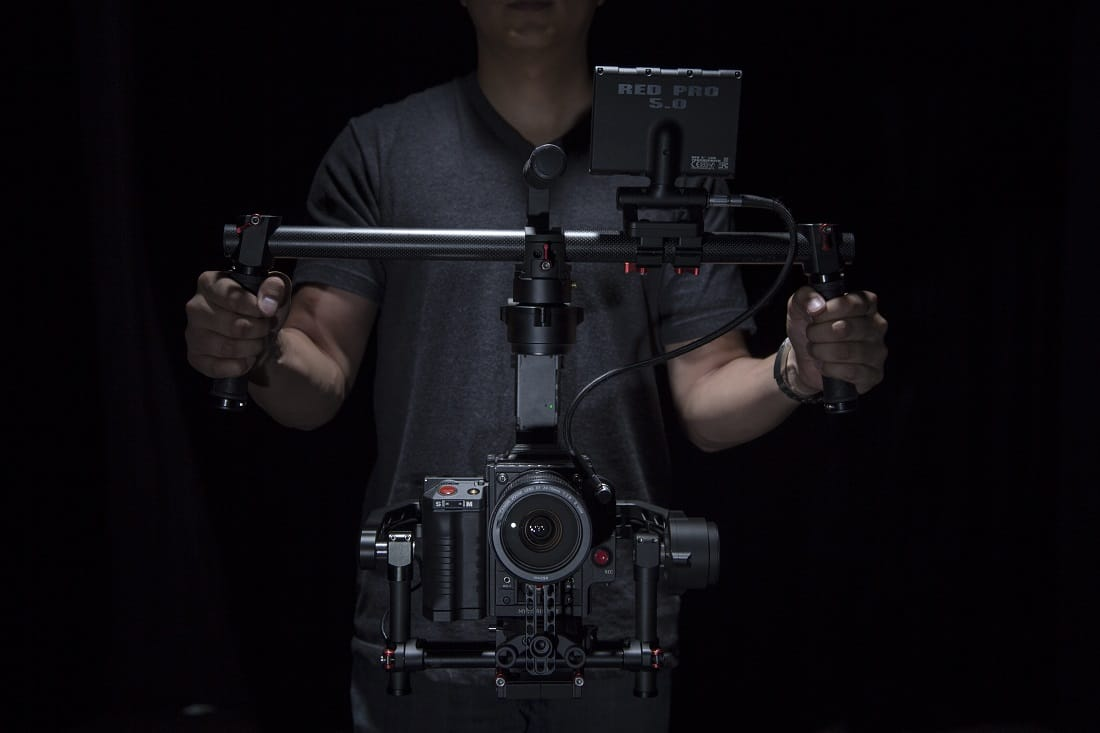 DJI Ronin - under-slung mode