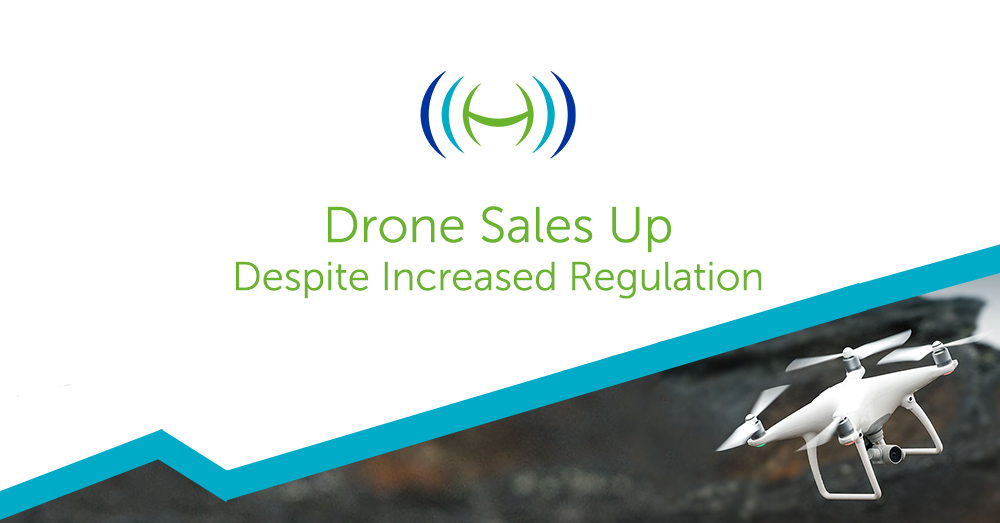 Drone Sales Grow Banner
