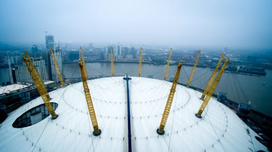 The O2 Arena, London. Eyyaz Chishty