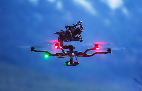 Freefly ALTA with top mounted camera options