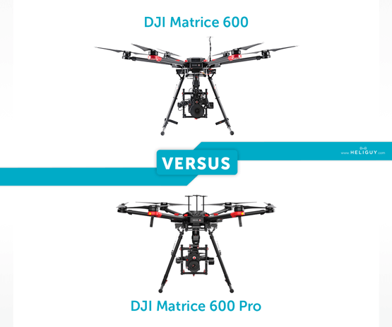 Heliguy-DJI_Matrice_600_VS_DJI_Matrice_600_Pro-Key_Differences