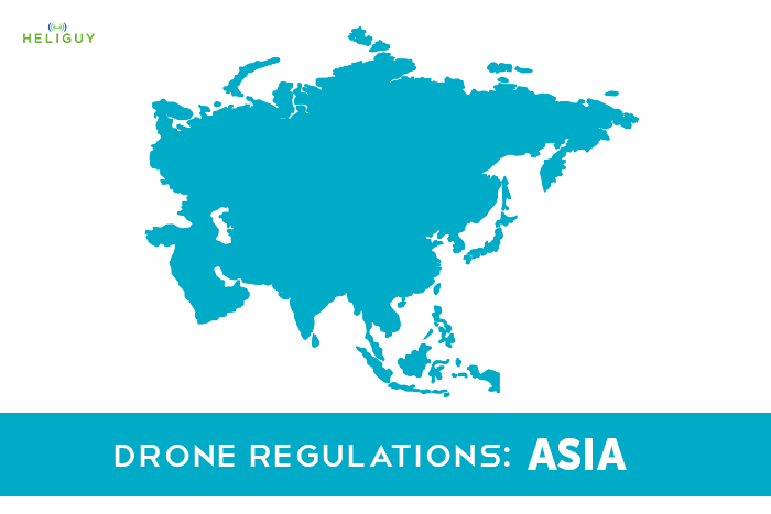 Hobbyist Drone Regulations - Asia