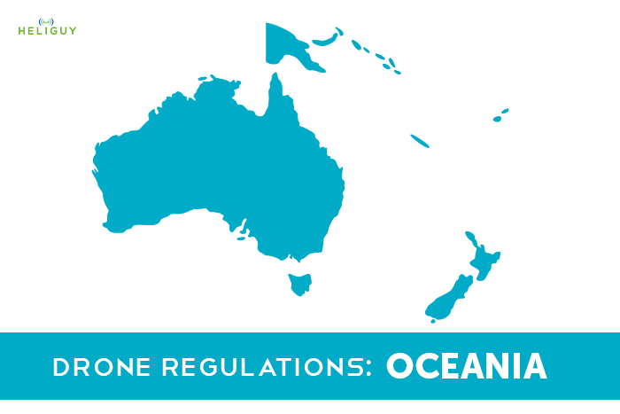 Hobbyist Drone Regulations - Oceania