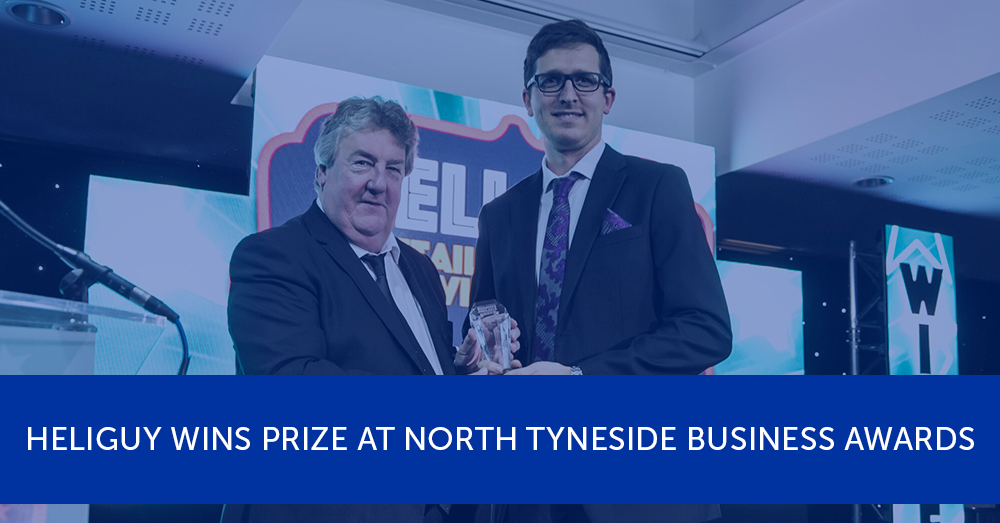 Heliguy wins prize at North Tyneside Business Awards