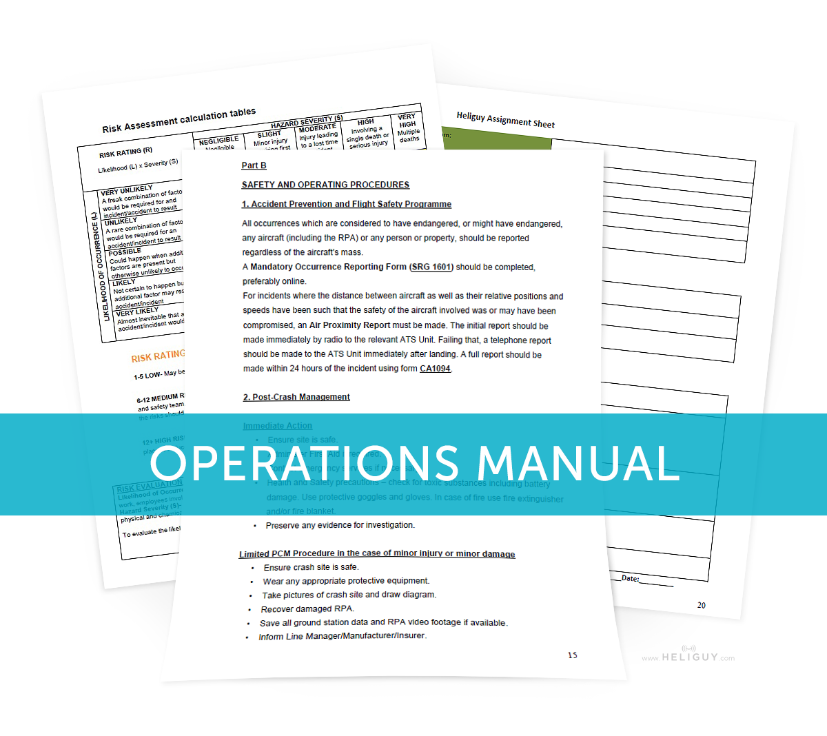 maintenance manual template