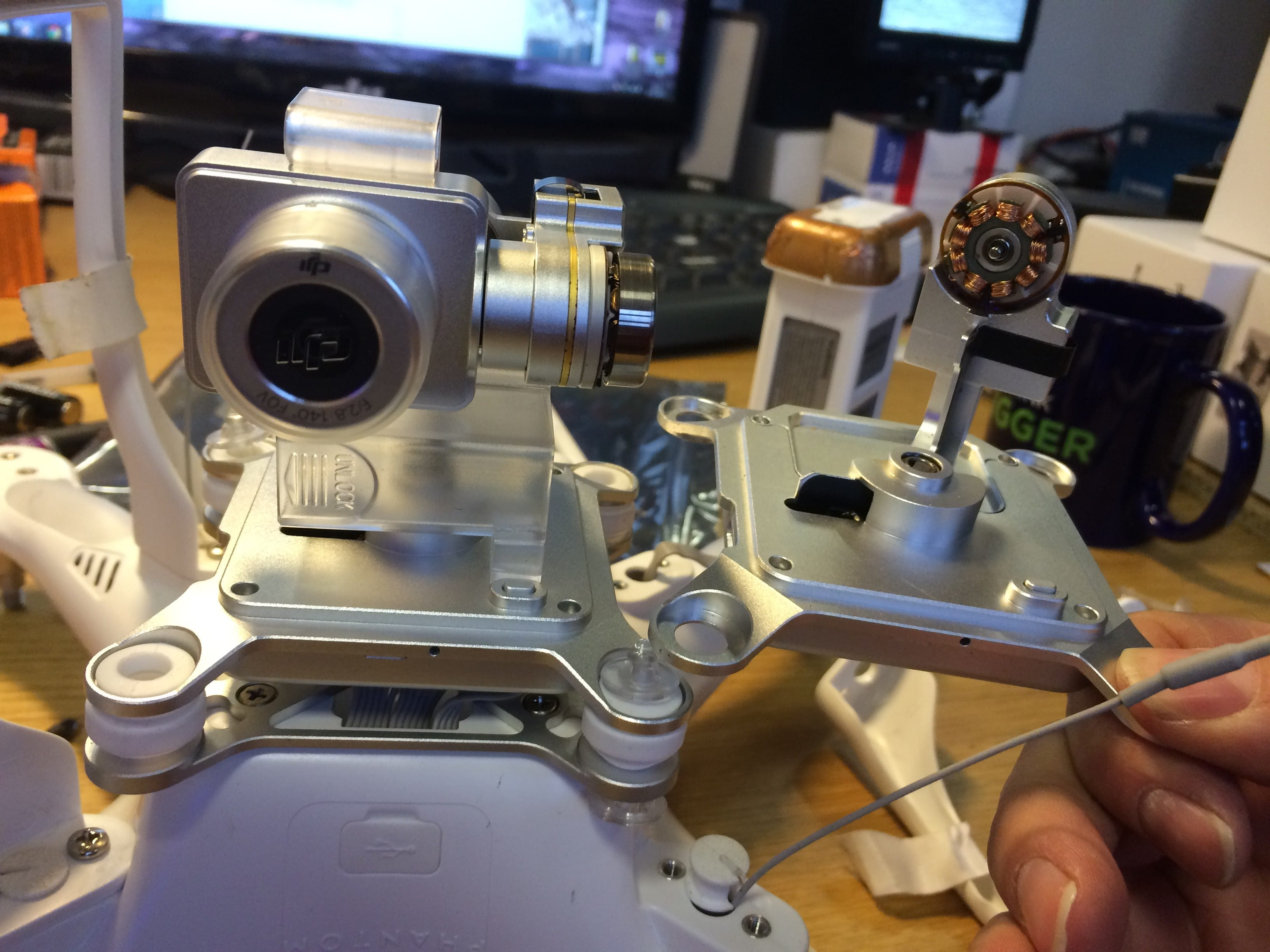 Lost your DJI Phantom 2 Vision+ Camera? Heliguy can replace.