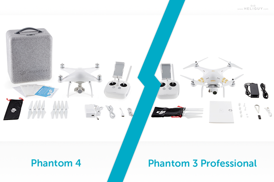Phantom 3 Vs 4 Comparison