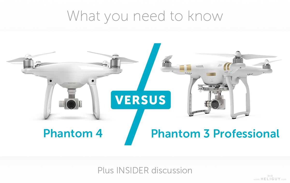 Phantom 4 VERSUS 3 Pro Plus Our Take On The Apple Launch