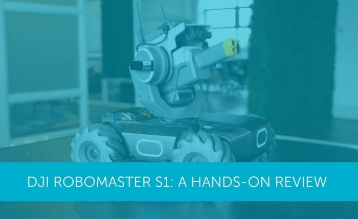 Dji Robomaster S1 A Hands On Review