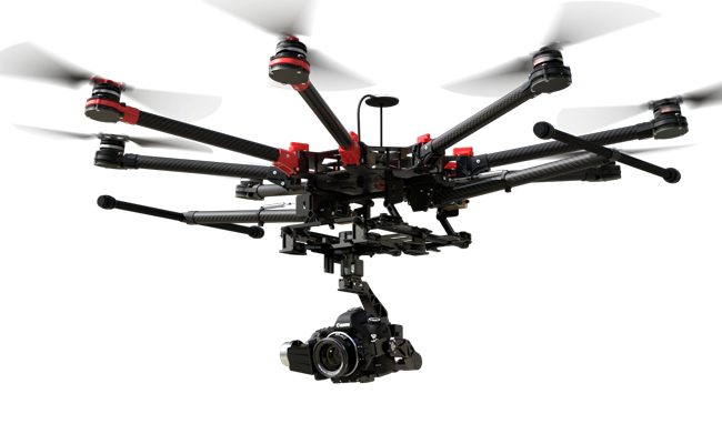 The DJI S1000+ octocopter