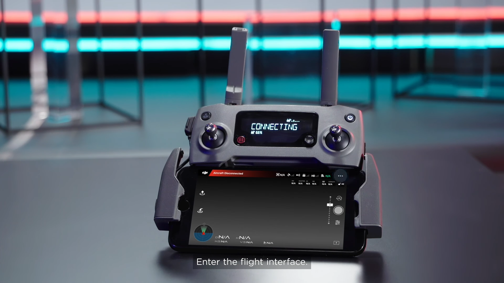 DJI App - Connecting controller to Mavic 2