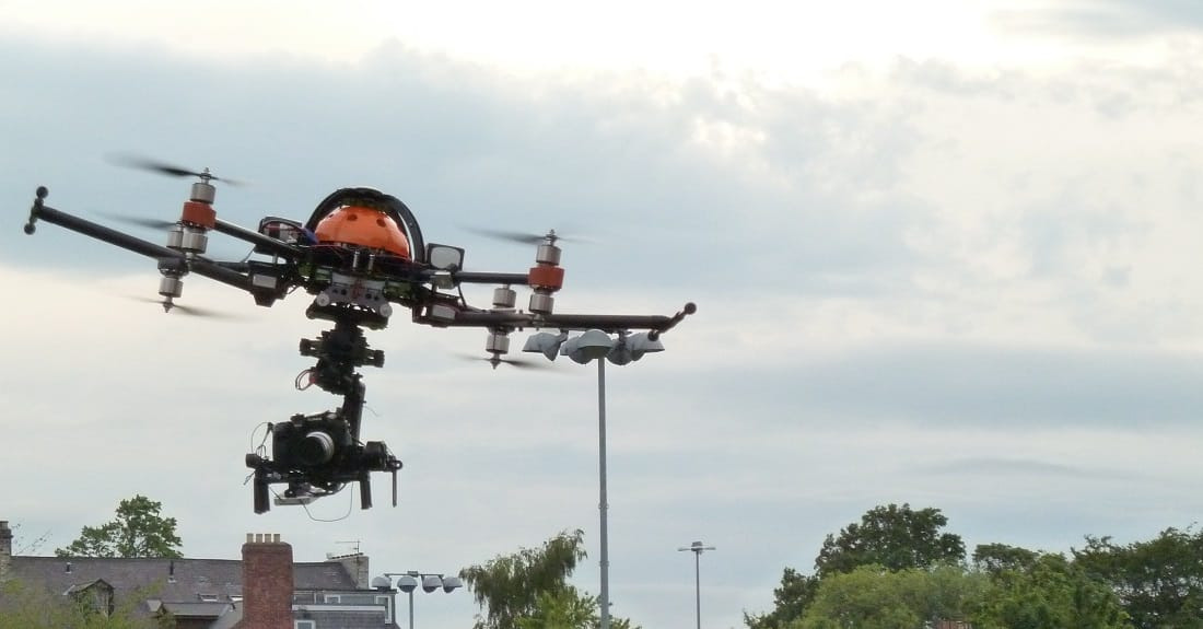 X8 octocopter