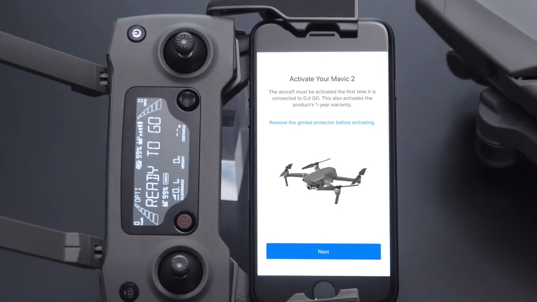 How to activate the DJI Mavic 2   Heliguy
