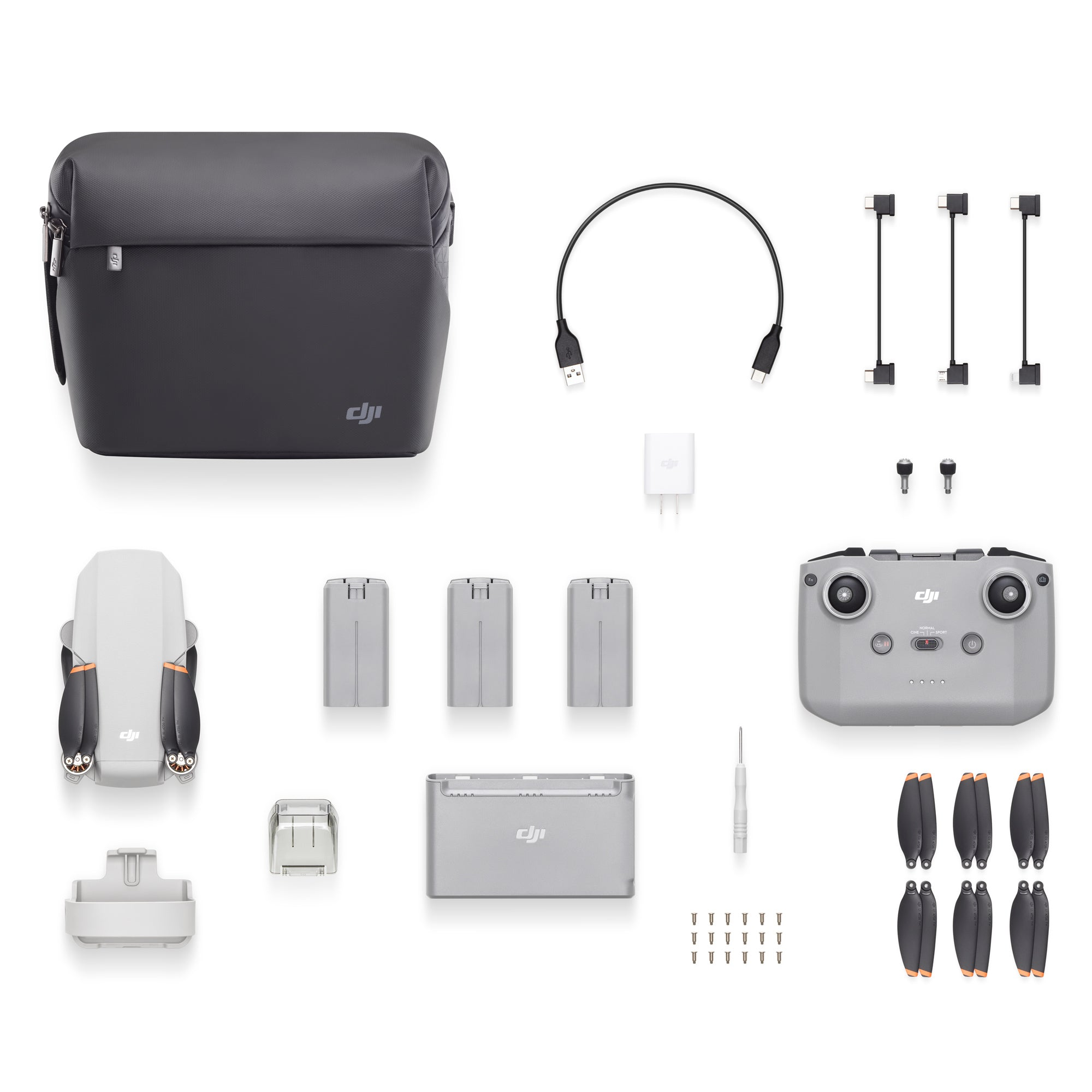 DJI Mini 2 Fly More Combo Package