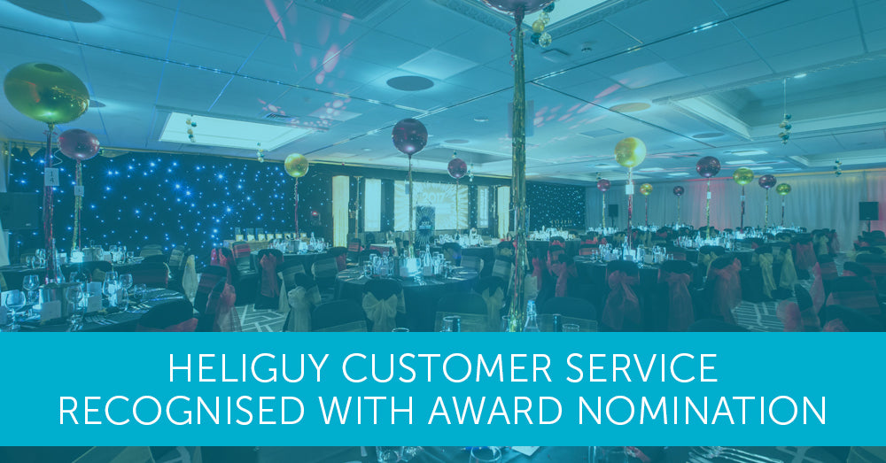 Heliguy Customer Services Recognised with Award Nomination