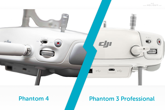 Phantom 4 Versus 3