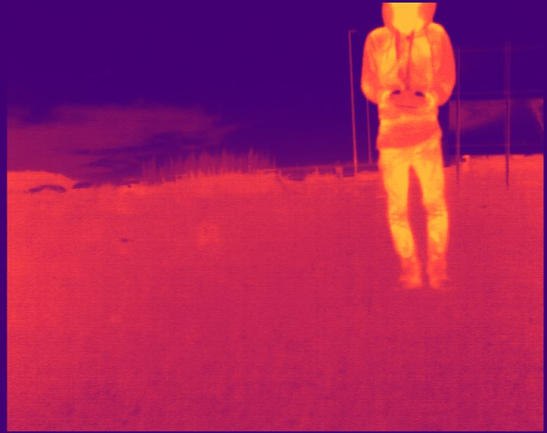 Another image from the mini thermal camera