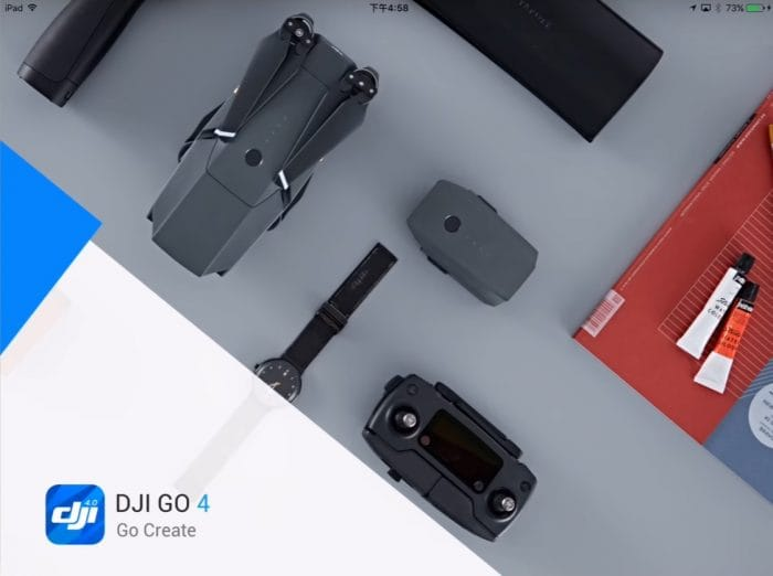 Launch DJI GO 4 App