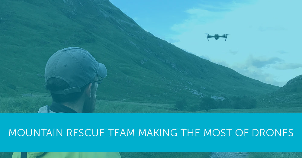 Mountain Rescue team making the most of drones