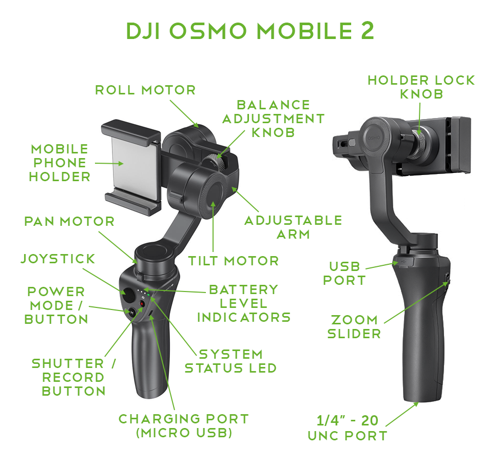 DJI Osmo Mobile 2 In-Depth Series – Part 1 – Setup | Heliguy