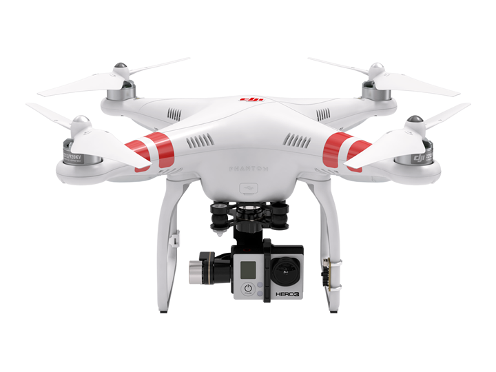 DJI Phantom 2 with H3-3D Gimbal for GoPro
