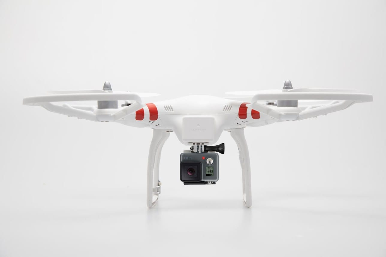 DJI Phantom and GoPro