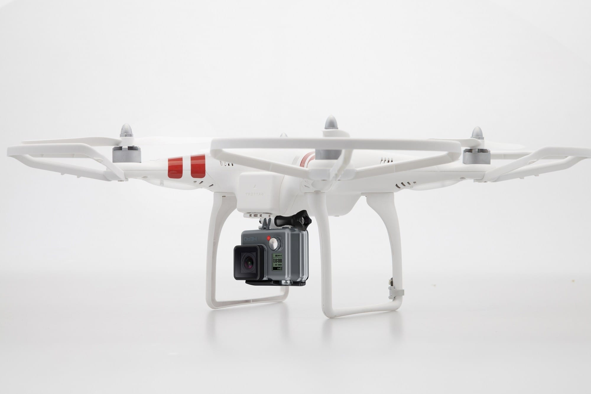 DJI Phantom and GoPro Hero