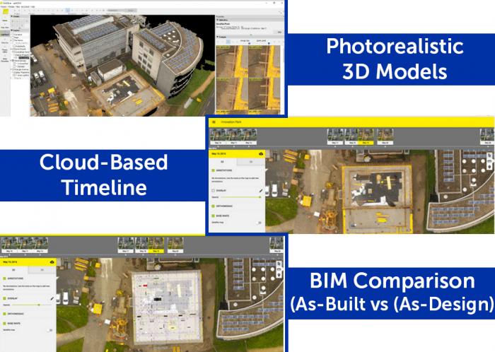pix4d bim features