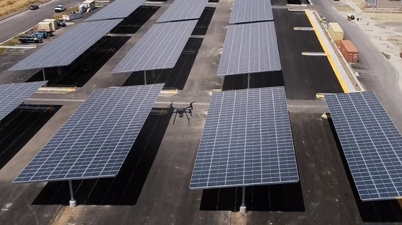 Drones are powerful tools for solar panel inspections.