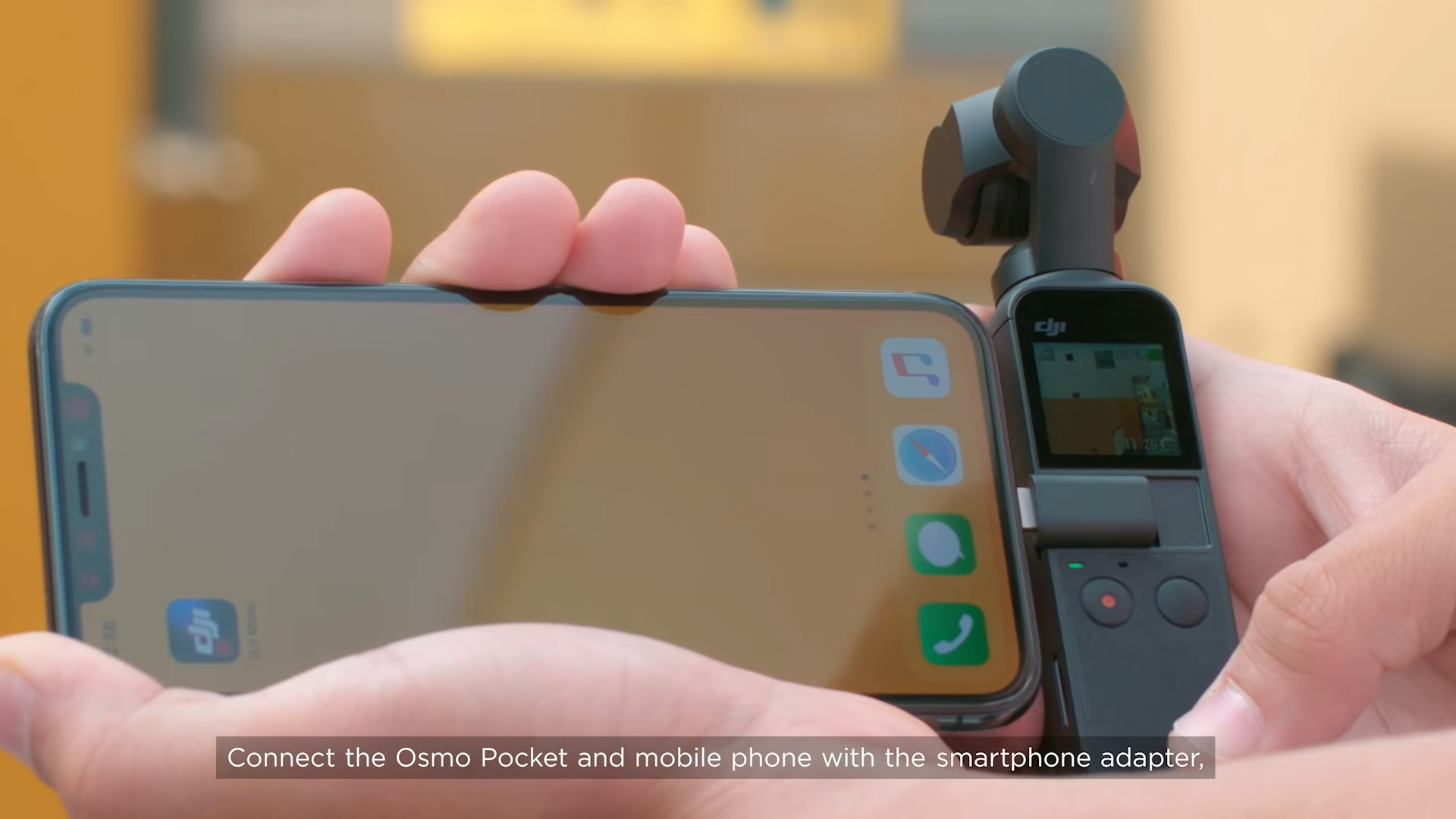 dji osmo pocket story mode feature on dji mimo app