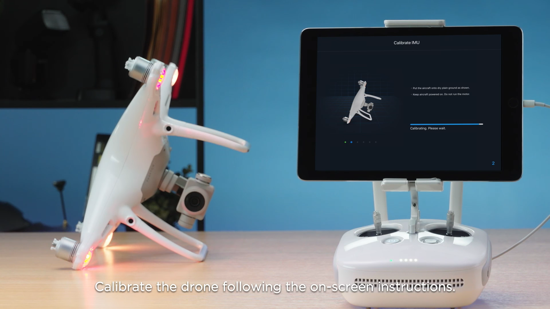 "OcuSync Transmission System The DJI Phantom 4 Pro V2.0 features a new dual-band OcuSync transmission system, automatically switching between 2.4GHz and 5.8GHz. The controller identifies which frequency has the lowest interference and switch to provide the clearest transmission. The new OcuSync also allows wireless connectivity with the DJI Goggles and Goggles RE and the Phantom 4 Pro V2.0. Removing the restrictions of wires and allowing a reliable connection. DJI Phantom 4 Pro V2.0 Remote Controller The Phantom 4 Pro+ V2.0 remote controller is available with a built-in 5.5"" 1080p screen. The ultra-bright screen has a brightness of 1000 cd/m2 increasing usability in direct sunlight. The screen's brightness is twice as bright as the majority of smartphones and tablets. The remote controller features a microSD card slot, speaker and microphone and an HDMI port. The remote controller has a battery life of up to five hours. Propulsion System The DJI Phantom 4 Pro V2.0 features an all-new quieter propulsion system. Newly designed 9455S propellers and FOC ESC drivers result in a 4dB noise reduction. The sinusoidal current is also improved, increasing the Phantom 4 Pro V2.0's stability in flight"