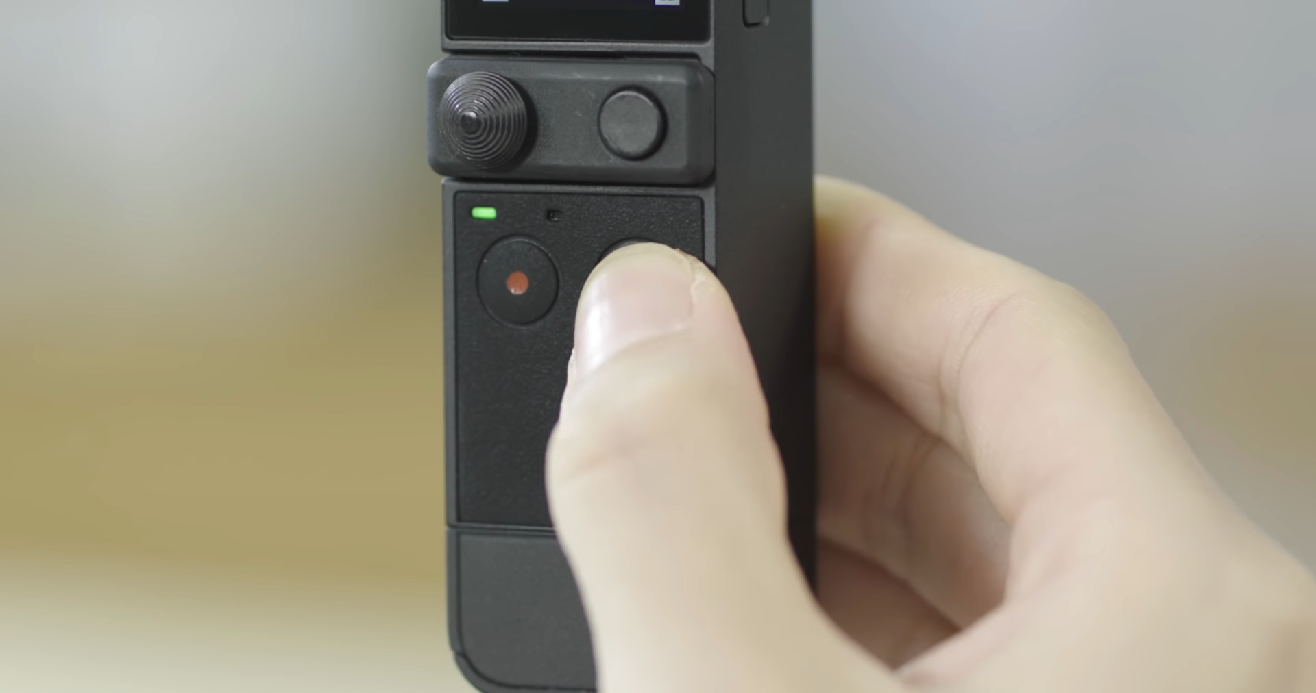 """DJI POCKET 2 Powerful handheld stabilised mini camera. What is the DJI Pocket 2? The DJI Pocket 2 is a tiny, but powerful stabilised mini 4K camera. The standard edition (pictured) features the gimbal, as well as Mini Control Stick and Tripod Mount (1/4""""). A DJI Pocket 2 Creator Combo is also available, featuring more accessories, including wide-angle lens, wireless microphone + windscreen, and Do-It-All Handle. Key features of the handheld DJI Pocket 2 include: Tiny Frame, Easily Transportable: The Pocket 2 weighs just 117g and offers up to 140 minutes of battery life. Small Camera, Big Results: An upgraded 1/1.7-inch sensor captures images with improved quality over the first generation Osmo Pocket, while the sweeping 20mm f/1.8 lens provides wide, cinematic video and images. Improved Audio System: New DJI Matrix Stereo consists of four microphones for enhanced audio effects. New Intelligent Features: Range of new features takes content creation to the next level. Expandable: Push creativity further with a suite of accessories for DJI Pocket 2."""