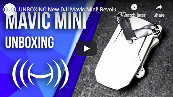 Mavic Mini Unboxing Video