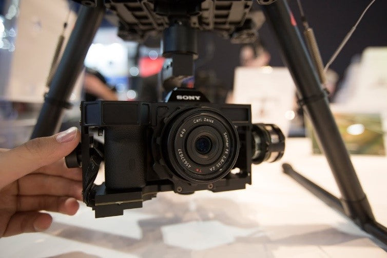 DJI at CES 2015 released the Zenmuse A7s
