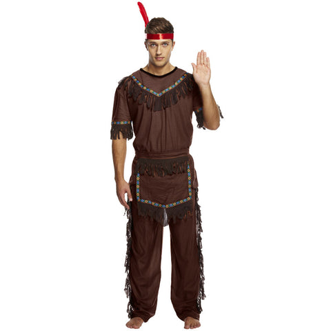 Adult American Indian Man Costume