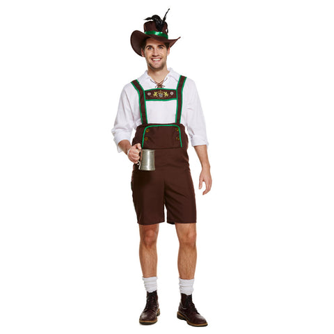 Adult Bavarian Man Costume