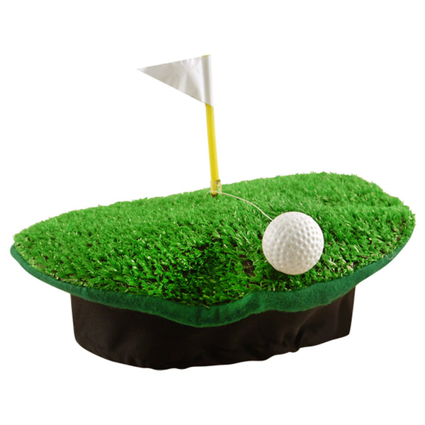 Adult Crazy Funny Golf Hat Cap Golf Ball Ground Flag Poll Fancy Party Accessory