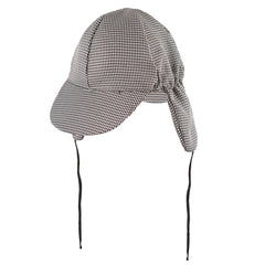 Adult Fancy Dress Detective Holmes Hat Deerstalker Sherlock Accessory