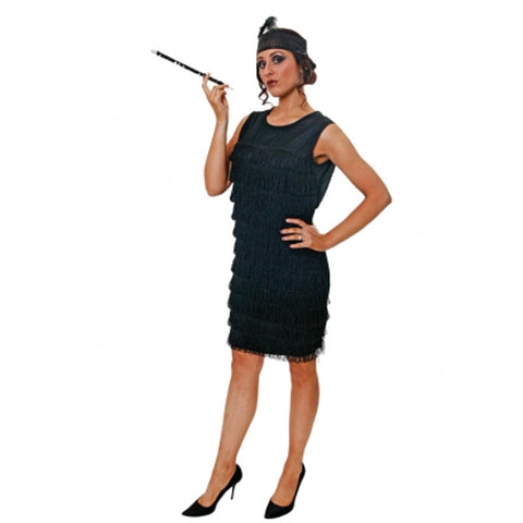 Adult Flapper Lady With Tassles Costume