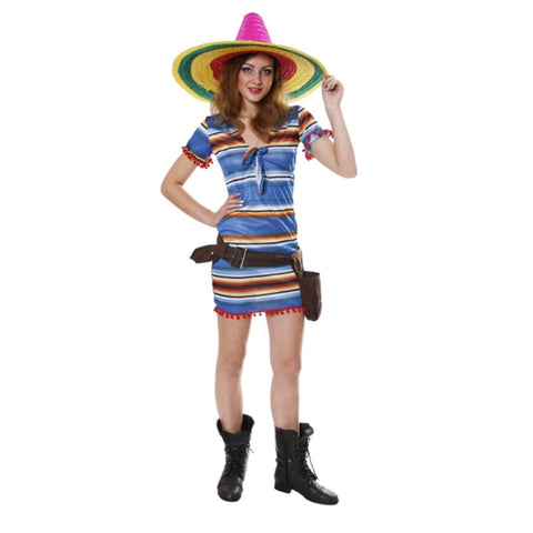 Adult Mexican Woman Costume